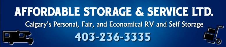Indoor RV Storage Calgary